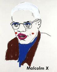 In one work, Malcolm X gets a makeover.