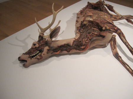 Erick Swenson, Ne Plus Ultra, 2010…Resin, MDF and acrylic paint…17 X 72 X 54 inches, overall